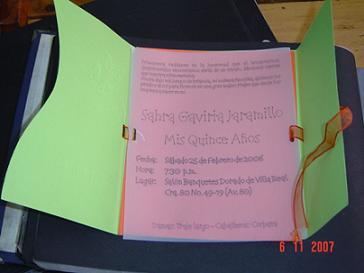 Cmo escoger las invitaciones para nuestra fiesta de 15 Chica de 15
