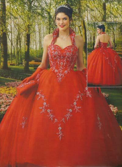 vestidos de 15 aos rojos. Vestidos rojos de 15.