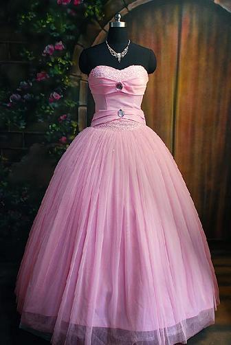 El sueño de aquel chico... Vestido-rosa-1