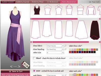 Dise a t misma el vestido para la fiesta de 15 chica de 15 for Disenar mi bano online