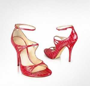 Las alhajas son uno de los regalos más codiciados por gran cantidad de mujeres y este modelo de sandalia bien podría formar parte de sus joyas favoritas.