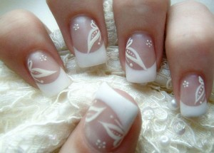 Nail Art: Uñas decoradas con flores