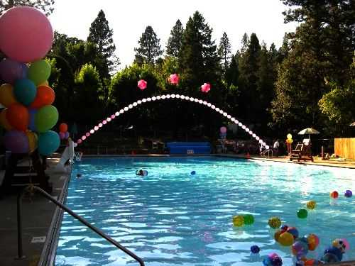 fiesta de piscina: