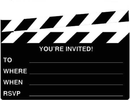 Invitaciones De 15 A F1os on oscar invitations free printable