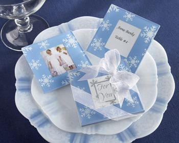 winter-theme-wedding-snowfall-glass-photo-coasters