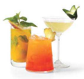Ideas para decorar las bebidas en tu fiesta de 15 chica for Adornos para cocteles