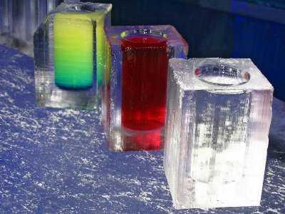 decoracion hielo cocina