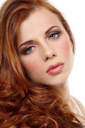 Wedding Makeup Ideas For Redheads : Maquillaje para tus 15 en San Valent?n Chica de 15