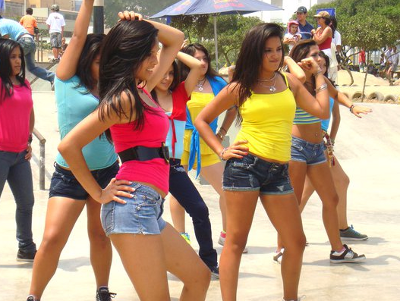 free video baile latino: